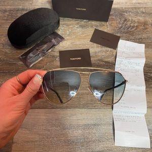 Tom Ford Aviators Sunglasses